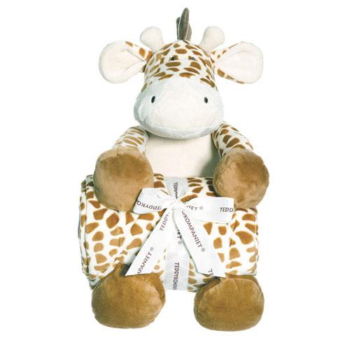 Diinglisar Wild kocyk z żyrafa, 100x75/40